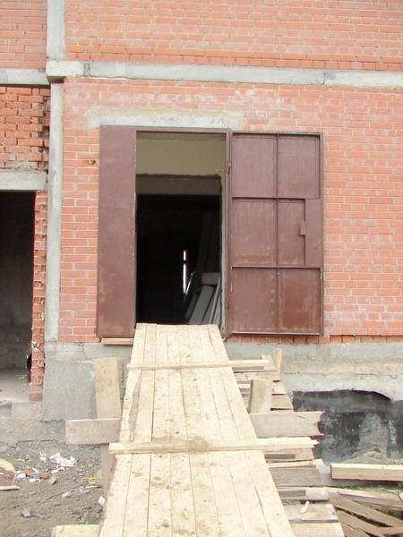 двери стальные технические для подвала цена